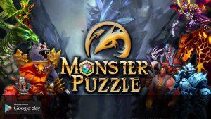 Monster puzzle 3d